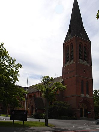 Bishopric of the Forces in Great Britain - Image: Aldershot Cathedral