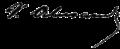 Alecsandri signature.png