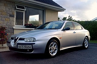 Alfa Romeo 156 car model