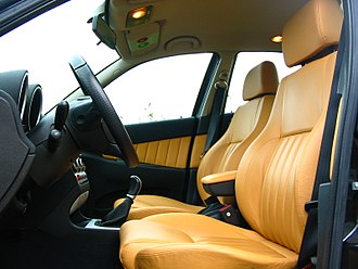 Alfa Romeo 156 - Interior of the first series facelift (2002)