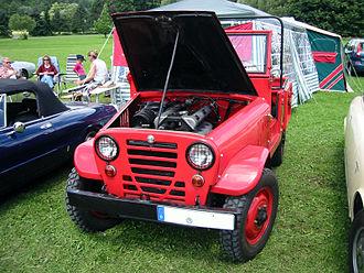 Alfa Romeo Matta - Image: Alfa romeo geländewagen