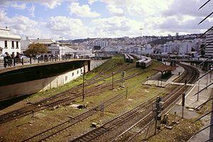 Anesrif - Gare d'Agha train station, in Algiers