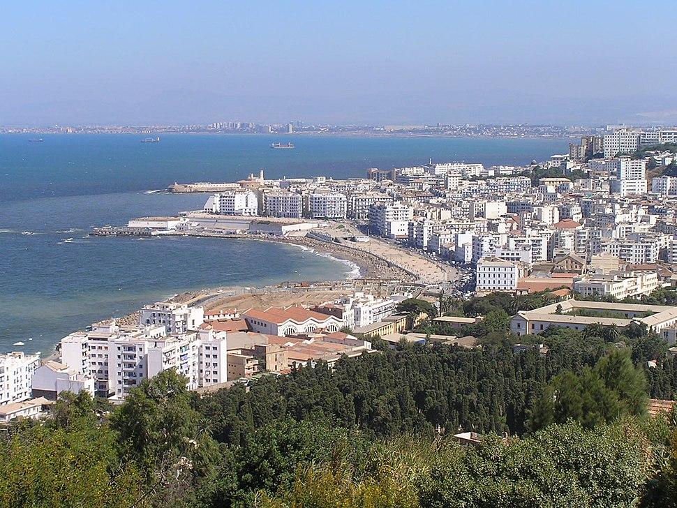 Algiers coast