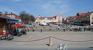 Alingsås town square