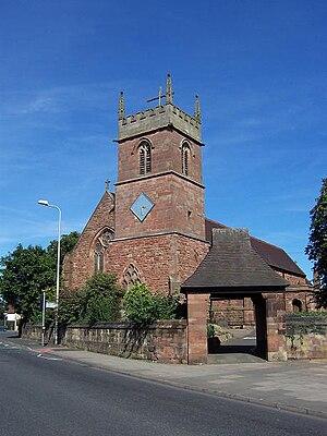 Charlemont and Grove Vale - All Saints Church, Charlemont