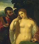 Allegory (Possibly Alfonso d'Este and Laura Dianti) sc195.jpg