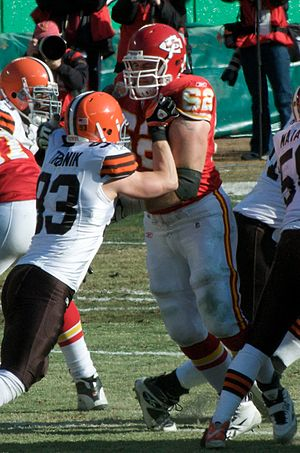 Jason Trusnik - Jason Trusnik with the Cleveland Browns in 2009.