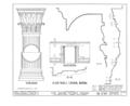 Alling House, 1012 Broad Street, Newark, Essex County, NJ HABS NJ,7-NEARK,8- (sheet 6 of 8).png
