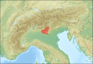 Garda Mountains mountain range