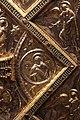 Altare di s. ambrogio, 824-859 ca., lato dx dei maestri delle storie di cristo, angeli e santi che adorano la croce gemmata 11.jpg