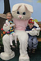 Alyssa and Aaron Burton, 3-year-old twin siblings, take a picture with the Easter Bunny during Eggstravaganze at the Laurel Bay Youth Center, Marine Corps Air Station (MCAS) Beaufort, SC., Mar 23, 2013 130323-M-ZZ999-003.jpg