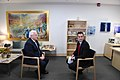Ambassador Friedman interviews to Ch10 and Ch 2 (27433274787).jpg