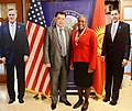 Ambassador Spratlen and the Chairman of the Central Election Commission Pose for a Photo.jpg