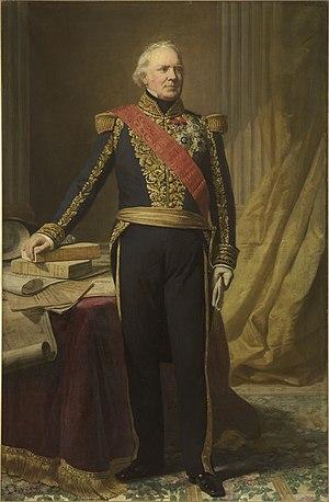 Ange René Armand, baron de Mackau - Portrait of Ange de Mackau