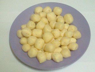 Sabahan cuisine - Amplang.