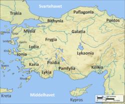 kart over kreta vest Bitynia – Wikipedia kart over kreta vest
