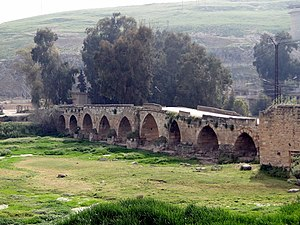 Mahardah - Ancient Roman bridge in Mhardeh