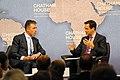 Anders Fogh Rasmussen, Secretary-General, North Atlantic Treaty Organization (NATO) and Robin Niblett (14273097709).jpg