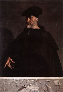 Andrea Doria admiral of the Republic of Genoa (1466-1560)