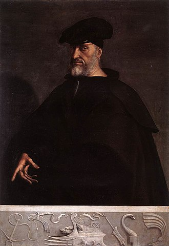Capture of Mahdiye (1550) - Portrait of Andrea Doria, c. 1520, by Sebastiano del Piombo.