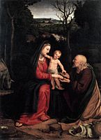 Andrea Solario - Rest during the Flight to Egypt - WGA21601.jpg