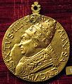 Andrea guacialotti, medaglia di sisto IV, recto (bronzo dorato), 1481.JPG