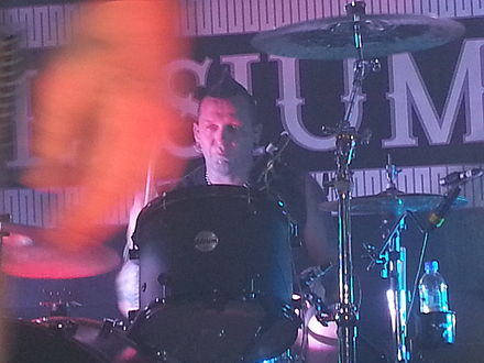 Andy Selway performing live with KMFDM Andy Selway.jpg