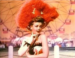 Angela Lansbury - Lansbury in a scene from MGM's Till the Clouds Roll By (1946), one of her earliest film appearances