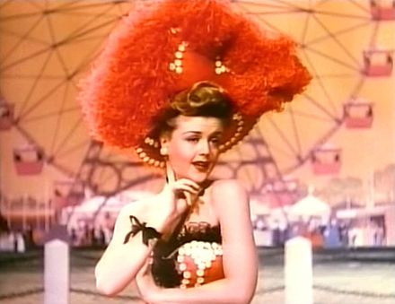 Lansbury in a scene from MGM's Till the Clouds Roll By (1946), one of her earliest film appearances Angela Lansbury in Till the Clouds Roll By.jpg