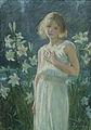 Anna Klumpke - Among the Lilies (1909).jpg