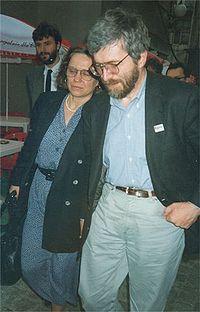 Anna and Stanislaw Baranczak by Kubik 05061995.jpg