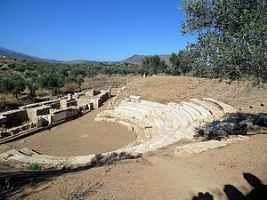 Aptera, Greece - Ancient theater of Aptera