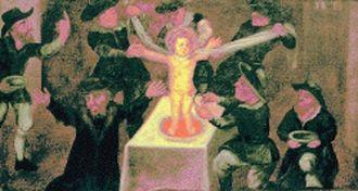 Harold of Gloucester - blood libel image of child sacrifice