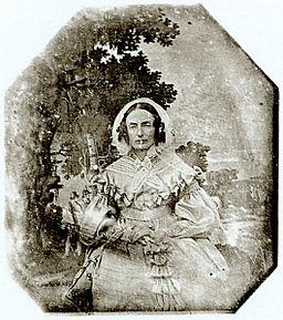 Anton Martin Woman infront a Gobelin 1840