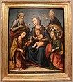 Antonio del ceraiolo (attr.), sposalizio mistico di s. caterina d'alessandria, 1500-25 ca..JPG