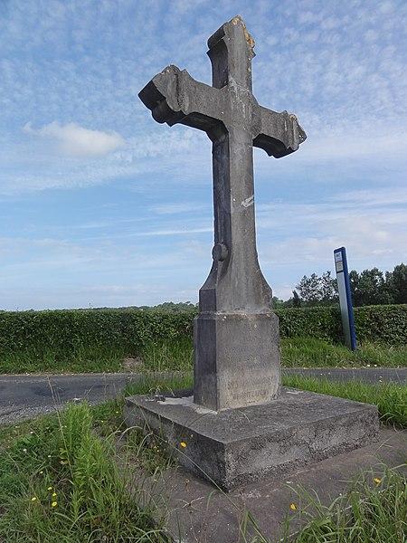 Arcangues, croix de chemin, hameau de la Croix