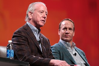 Archie Manning - Archie with his son, Peyton, in January 2017.