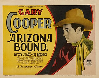 <i>Arizona Bound</i> (1927 film) 1927 film by John Waters