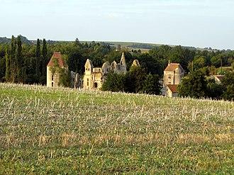 Armentières-sur-Ourcq - Remains of the chateau