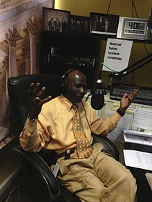 Armstrong Williams hosting his radio show in DC.jpg