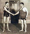 Arne Borg et Georges Michel à Bruxelles en 1927.jpg