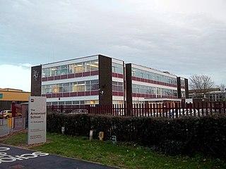 The Arnewood School Academy in New Milton, Hampshire, England