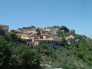 Valle Latina - Image: Arpino panorama