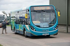 Arriva Medway Towns bus 1651 (KX61 LFR), M&D and EK 60 rally.jpg