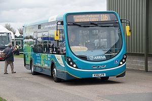 Wright StreetLite - Arriva Medway Towns Door Forward StreetLite