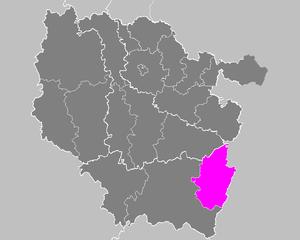 Arrondissement of Saint-Dié-des-Vosges - Image: Arrondissement de Saint Dié des Vosges