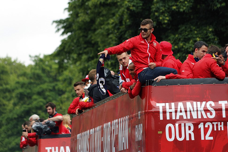 Arsenal FA Cup Winners Parade (18351309601)