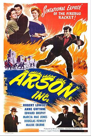 Arson, Inc. - Image: Arson, Inc. Film Poster
