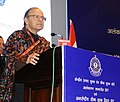 Arun Jaitley delivering the inaugural address, at the Investiture Ceremony 2017 and International Customs Day 2017, organised by the Central Board of Excise and Customs (CBEC), in New Delhi.jpg