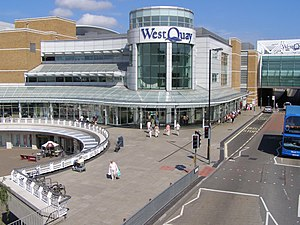 Arundel Circus entrance to the WestQuay shopping centre - geograph.org.uk - 210260